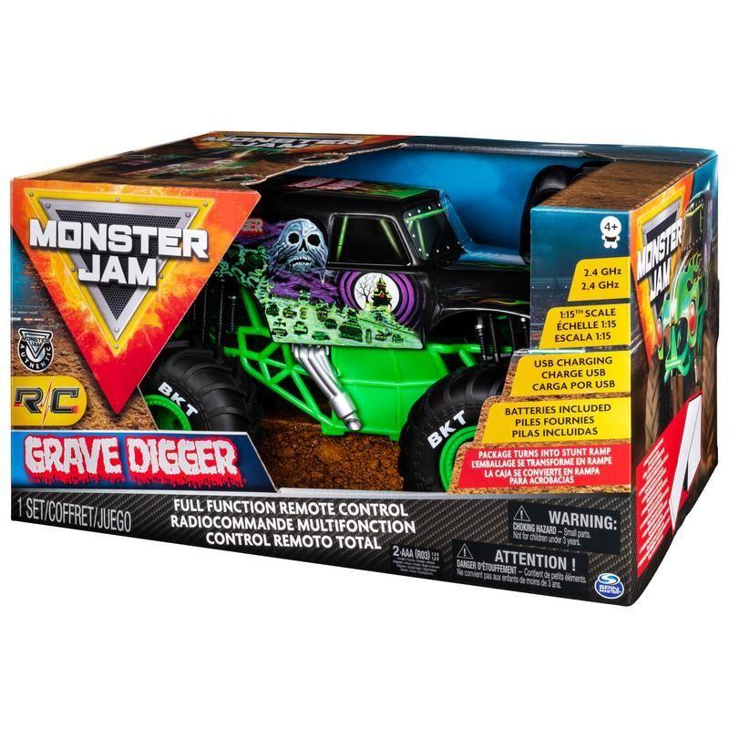 Monster Jam RC 1:15 Grave Digger