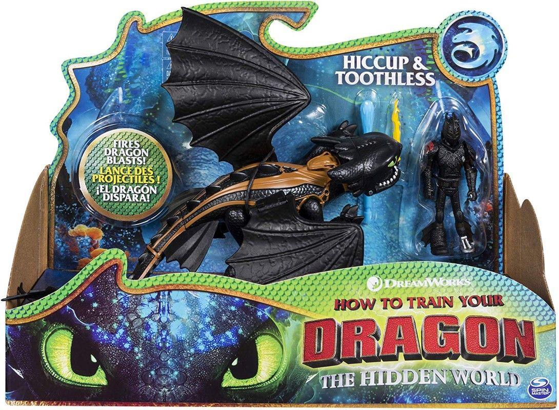 Figuras Dragón y Vikingo Como Entrenar A Tu Dragon Spin Master