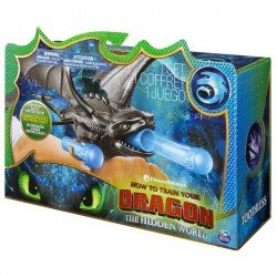 Como entrenar a tu dragón Lanzador de Pulsera Spin Master Chimuelo