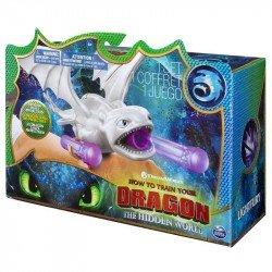Como entrenar a tu dragón Lanzador de Pulsera Spin Master Furia Luminosa