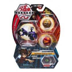 Bakugan Set de Inicio Spin Master Darkus Mantonoid