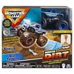Monster Jam Set de Juego Monster Dirt Básico Blue Thunder