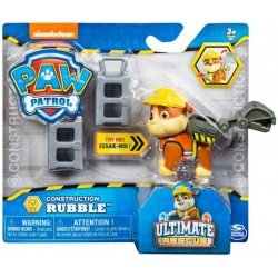 Figura Cachorros Héroes Spin Master Rubble