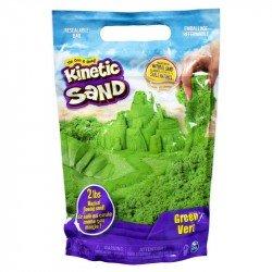 Kinetic Sand Bolsa de Arena de Color Spin Master Verde