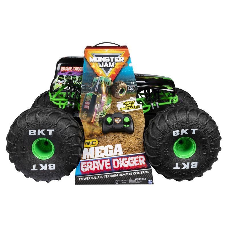 Mega Grave Digger RC