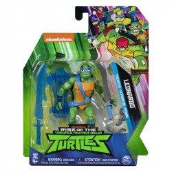 """Figura 5"""" Rise of the Teenage Mutant Ninja Turtles Spin Master Leonardo"""