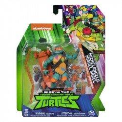 """Figura 5"""" Rise of the Teenage Mutant Ninja Turtles Spin Master Miguel Angel"""