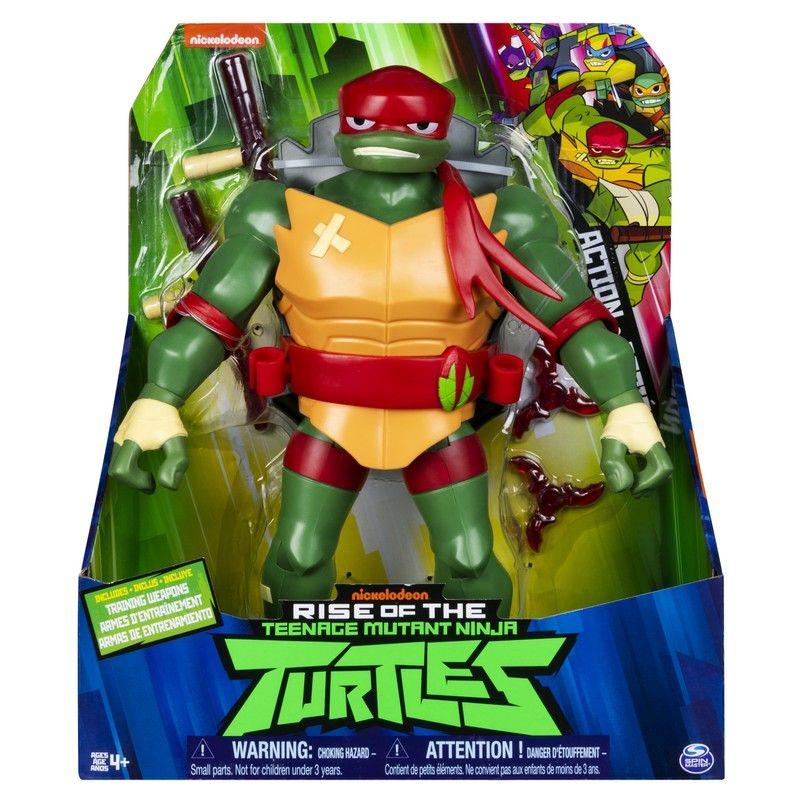 "Figura 11"" De Lujo El ascenso de las Tortugas Ninja Spin Master"