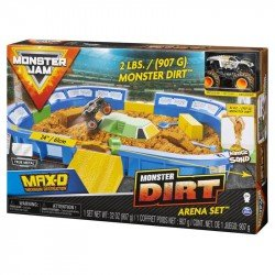 Monster Jam Monster Dirt Set Arena Max-D Spin Master