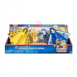 Paw Patrol Set Planeador Chase y Rubble 2 Pack Spin Master