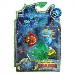 Set Dragones Bioluminiscentes Spin Master