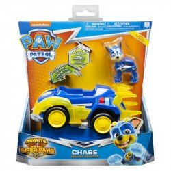 Vehículo Mighty Pups Paw Patrol Spin Master Chase