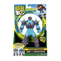 "Figura 6"" Transformable Ben 10 Spin Master Shock Rock"