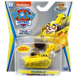 Vehículos Die-Cast Paw Patrol Spin Master Rubble Charged Up