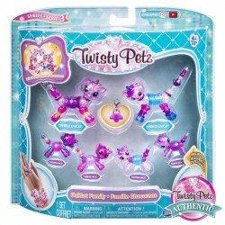 Twisty Petz Familia de 6 Spin Master