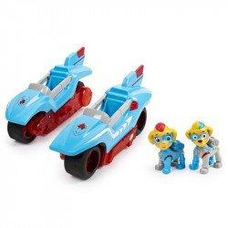 Paw Patrol Vehículo Mighty Twins 2 en 1 Spin Master