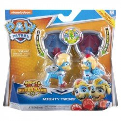 Figuras Paw Patrol Mighty Twins 2 Pack Spin Master