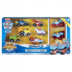 Set Vehiculos Die-Cast Mighty Twins Paw Patrol Spin Master