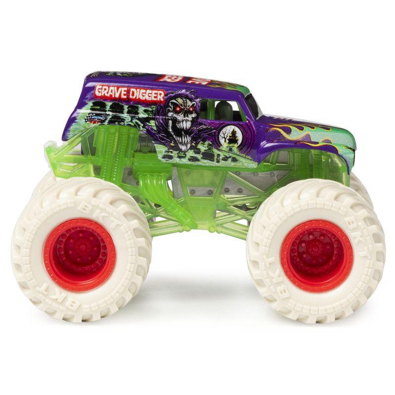Vehiculo 1:64 con Figura Monster Jam
