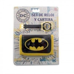 SET RELOJ Y CARTERA BATMAN