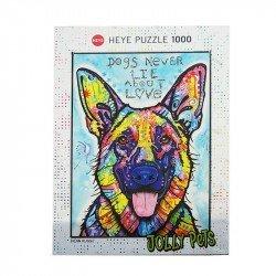 Rompecabezas Jolly Pets Perro 1000 Pzas.