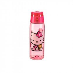 Botella Tritan 25 Oz Hello Kitty