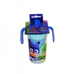 Vaso Entrenador Doble Pared Pj Mask 330ml