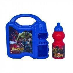 Lonchera Con Botella Avengers Infinity War
