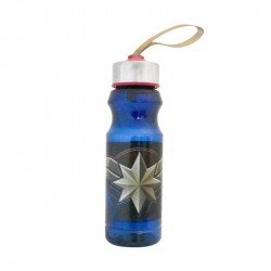 Botella Con Tapa De Acero Capitan Marvel