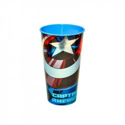 Vaso Laser Capitan Marvel 600ml Avengers