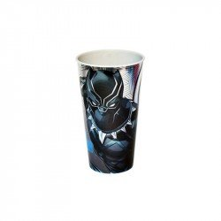 Vaso Laser Black Panther 600ml Avengers