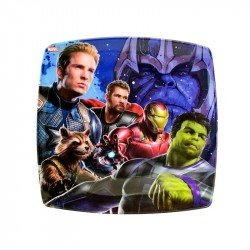 Plato Cuadrado Avengers Infinity War II