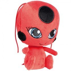 Mini Peluche Lady Bug Bandai Tikki