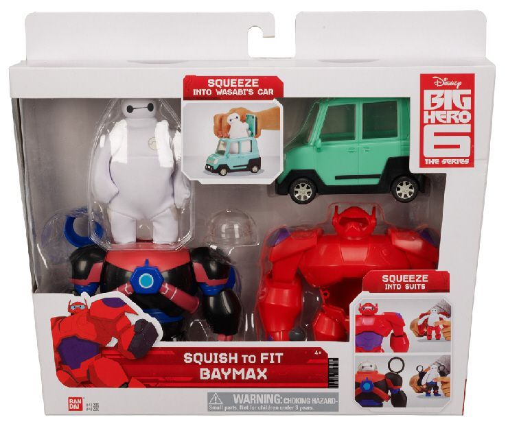 Figura Baymax Grandes Héroes Apachurrable