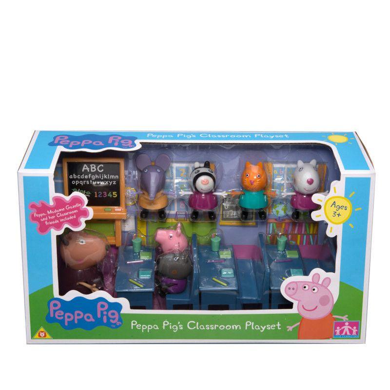 Set Salon De Clases Peppa Pig