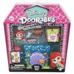 Mini Display Set Disney Doorables Temporada 2 Bandai Ariel