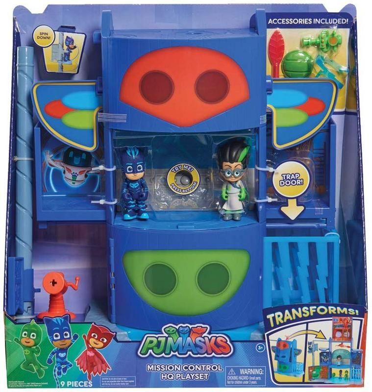 Playset Mission Control PJ Masks Bandai