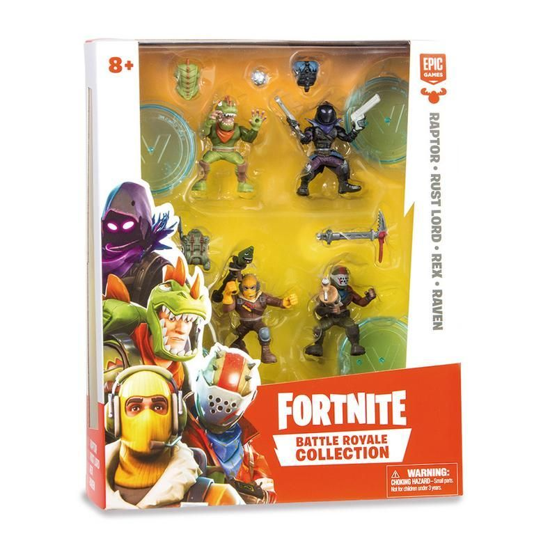 Pack de 4 Figuras Fortnite Bandai