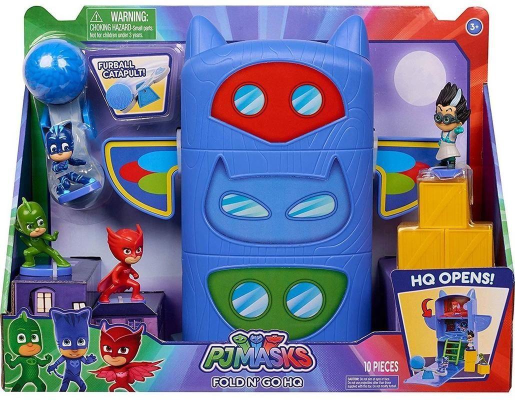 Playset Fold n' Go Headquarters PJ Masks Bandai