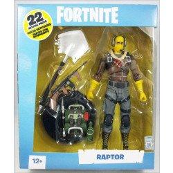 """Figura de Acción McFarlane Fortnite 7"""" Raptor"""