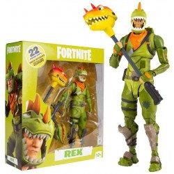 "Figura de Acción McFarlane Fortnite 7"" Rex"