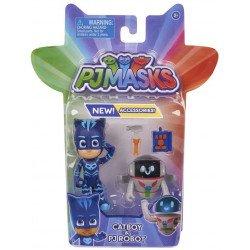 Figuras PJ Masks 2 Pack Bandai Catboy & Robot