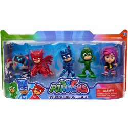 Set de Figuras Coleccionables PJ Masks Bandai