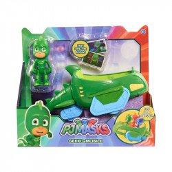 Vehiculo PJ Masks Bandai Gecko
