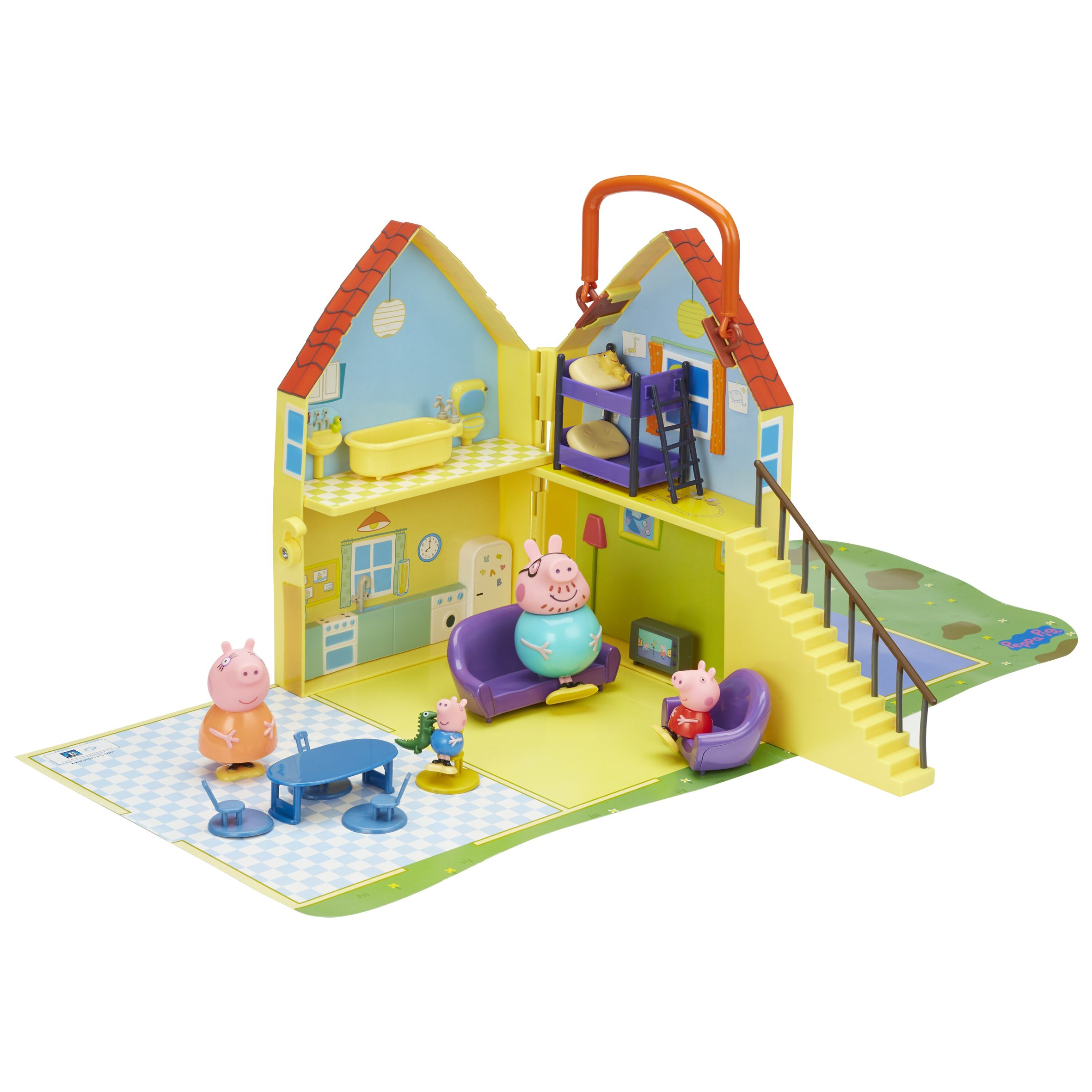 PEPPA PIG PLAYHOUSE WITH MAT