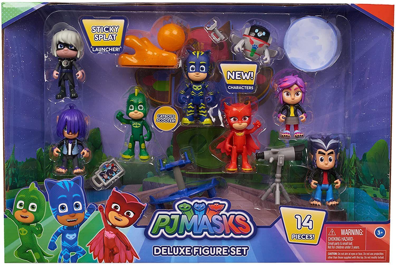 Set de Figuras Deluxe PJ Masks