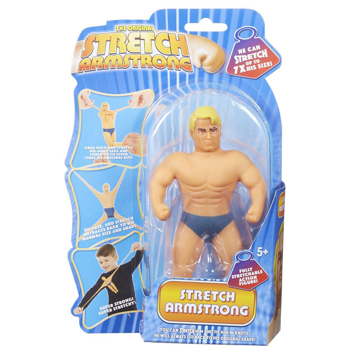 Figura Mini Stretch Armstrong Bandai
