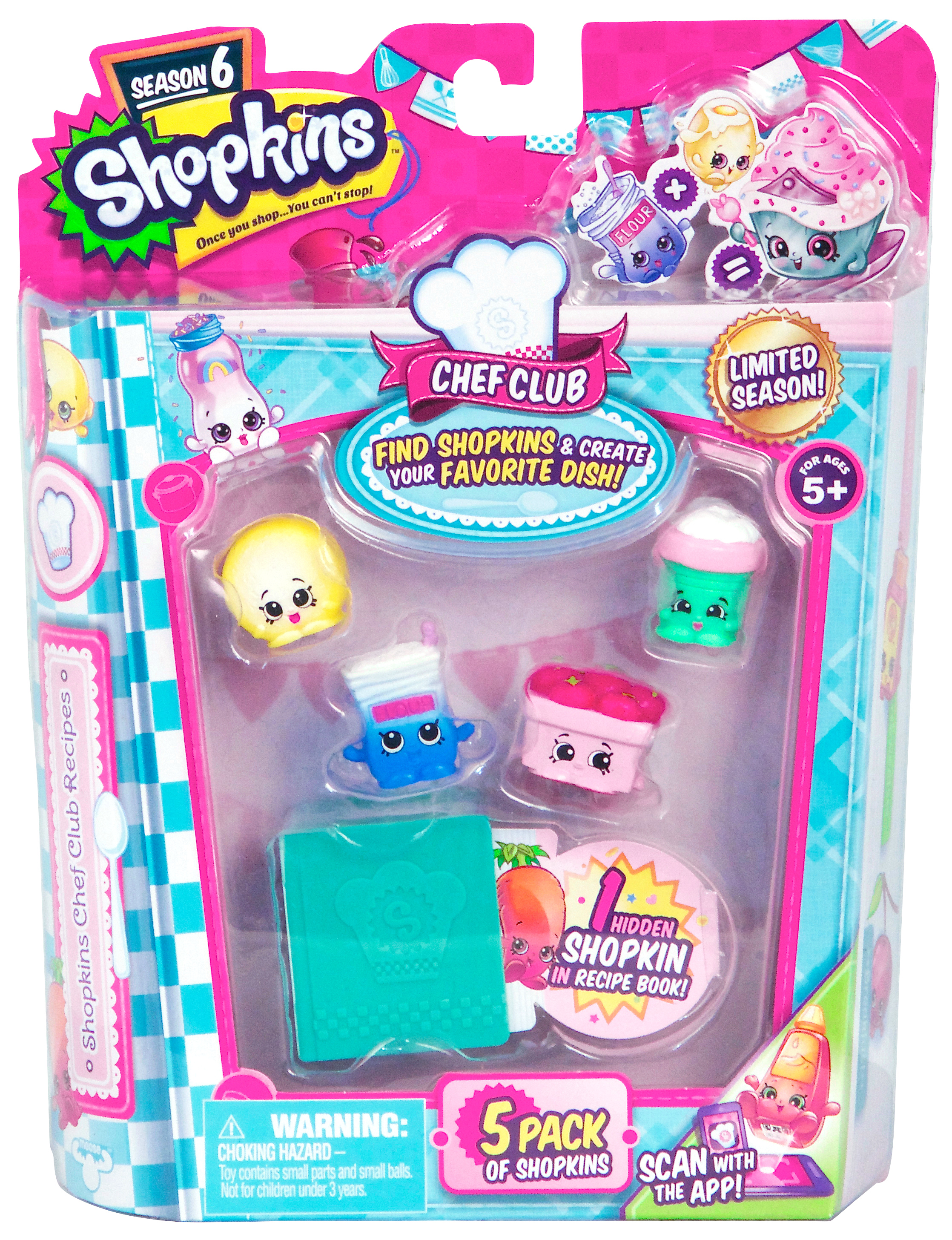 SHOPKINS CHEF 5 PACK