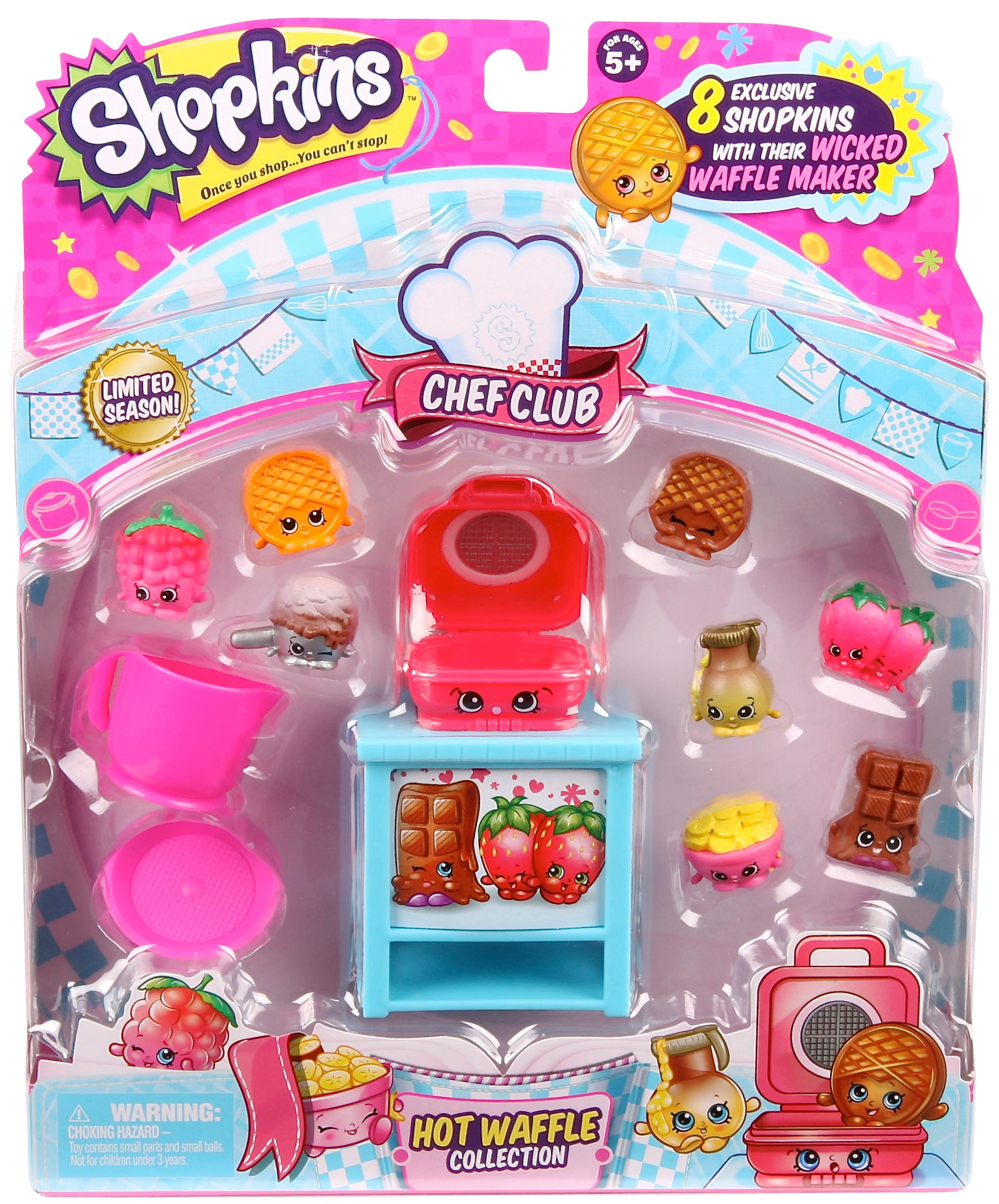 SHOPKINS CHEF THEMED PACKS