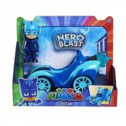 PJ Mask Vehiculo Hero Blast Bandai Catboy